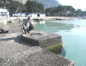 Il degrado del Molo di Punta Celesi - Mondello